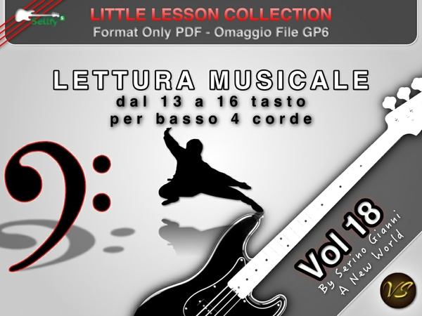 LITTLE LESSON VOL 18 - Format Pdf (in omaggio file Gp6)