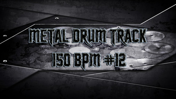 Metal Drum Track 150 BPM #12 - Preset 2.0