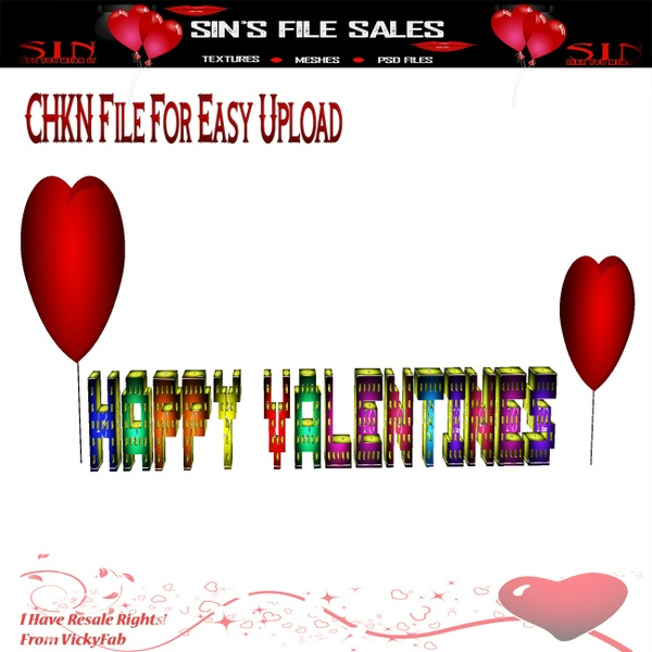 Happy Valentines * CHKN