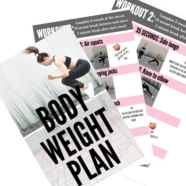 Bodyweight Plan