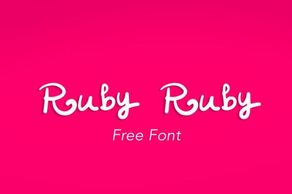 RubyRuby Font