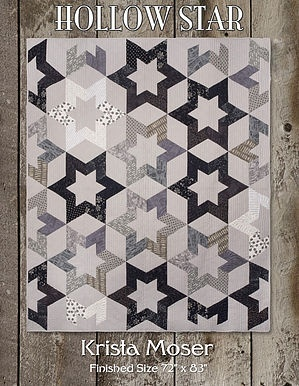 HOLLOW STAR PDF DOWNLOADABLE QUILT PATTERN