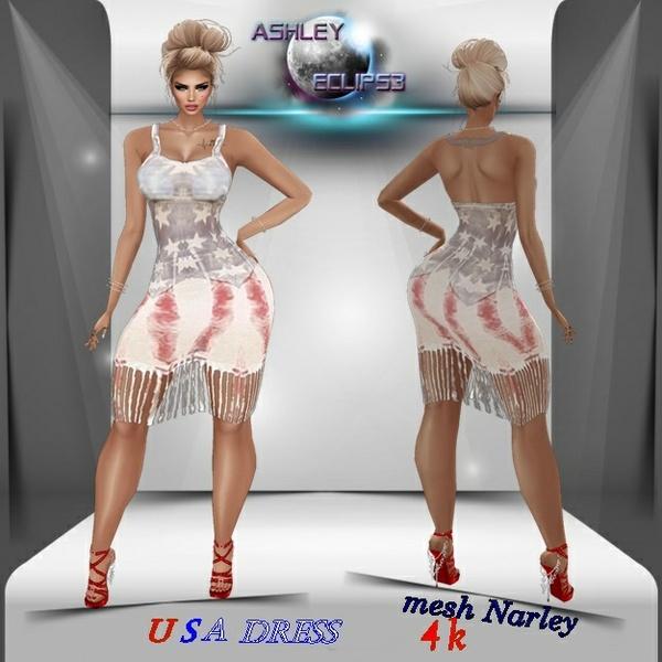 FILE USA DRESS