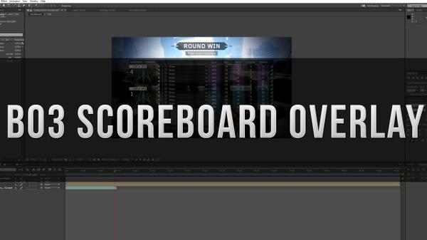 Bo3 Scoreboard Overlay