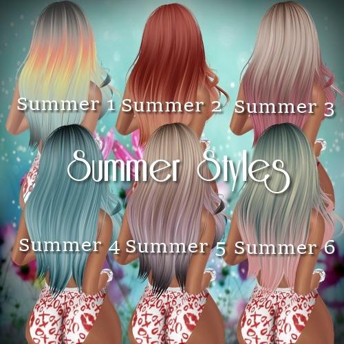 Summer Hair Textures