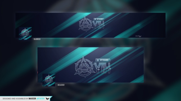 Abstract Premade Revamp Pack
