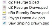 Drawn PSD Pack #3