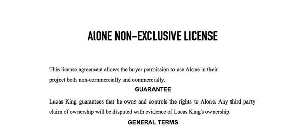 Space Piano - Alone License