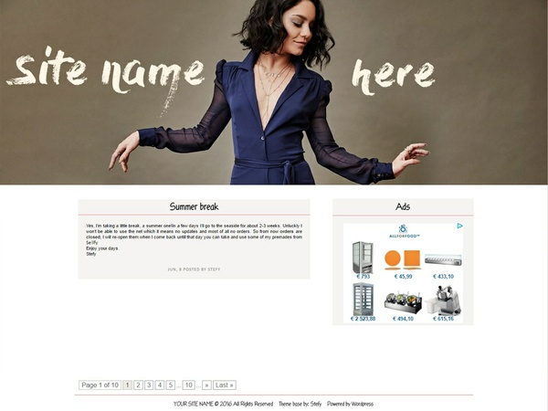 Wordpress premade #4