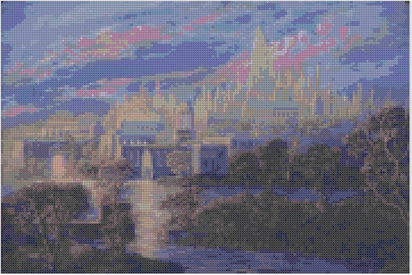 cross stitch pattern Mar-035c