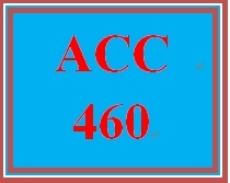 ACC 460 Week 4 Not-for-Profit Financial Reporting Paper