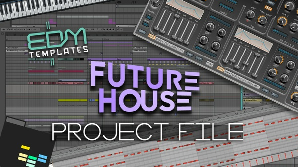 Ableton Live Future House Template 23.12
