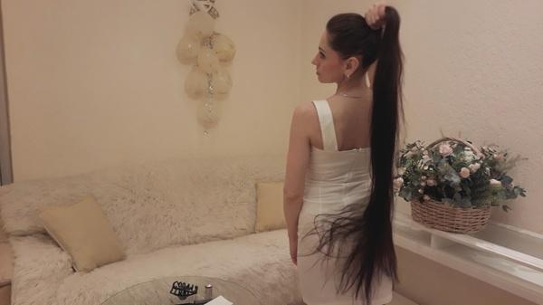 Olga Demidoff - The Long Hair Princess