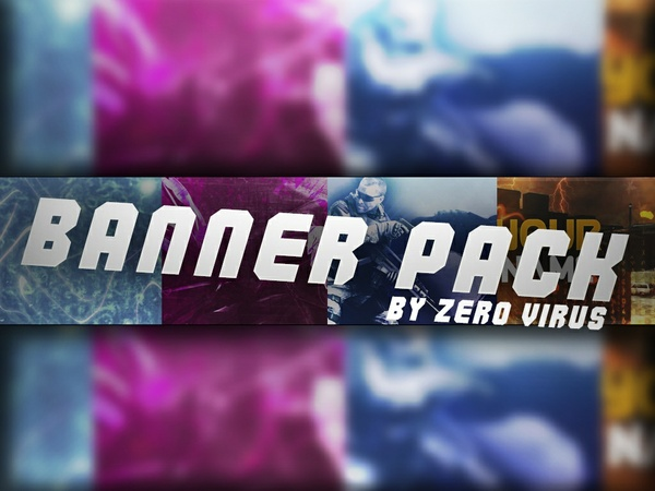 November 2017 Youtube Banner Pack