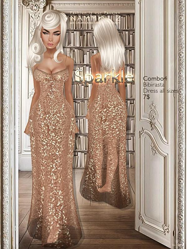 Sparkle combo4 imvu Bibirasta dress all sizes texture JPG