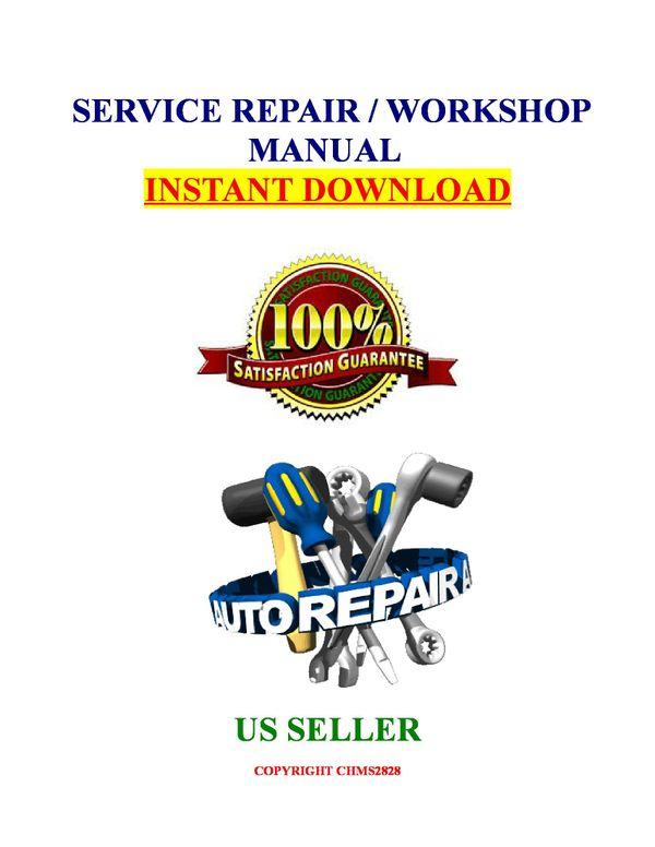 Toyota Tacoma  2001 2002 2003 2004 2005 2006 Service Repair Manual Download