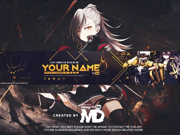 Banner Anime | Psd Download |