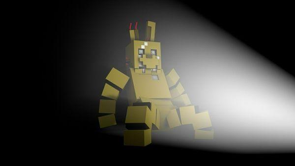 FNAF 3 Minecraft Model