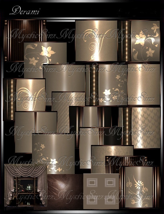 IMVU Textures Derami Room Collection