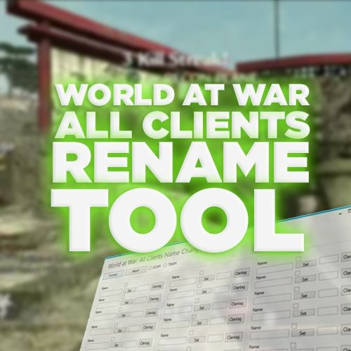 (PS3) WaW - All Clients Name Changer!
