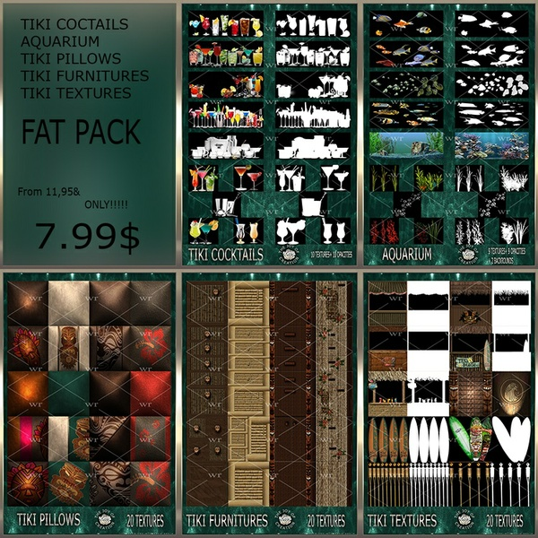 ~ TIKI FAT PACK ~