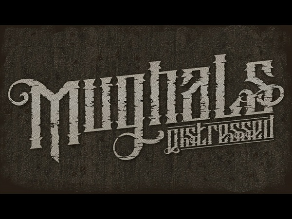 Mughals & Mughals Distressed Fonts