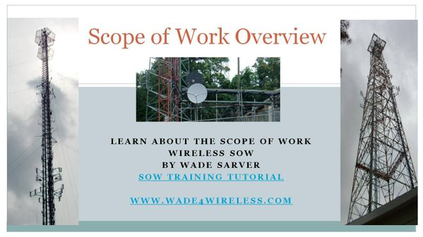 Scope of Work Overview