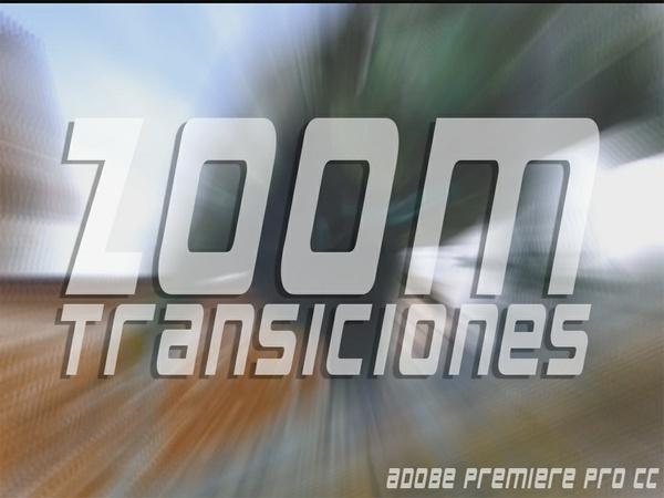 Transiciones ZOOM para Adobe Premiere Pro CC