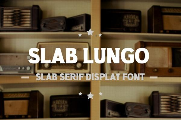 Slab Lungo - Vintage Serif Slab