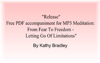 "Free PDF Meditation: ""Release"" by Kathy Bradley"