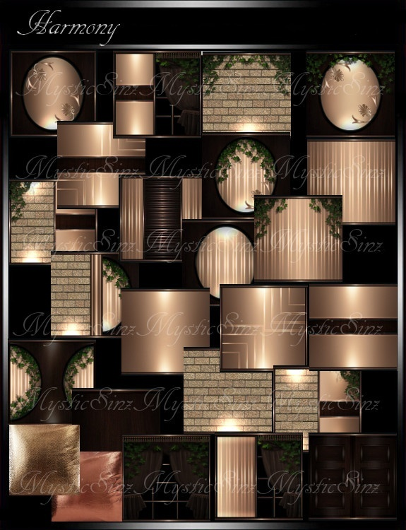 IMVU Textures Harmony Room Collection