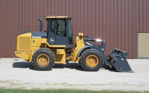 John Deere 444J, 544J, 624J Wheel Loader Service Repair Manual + Operation and Test