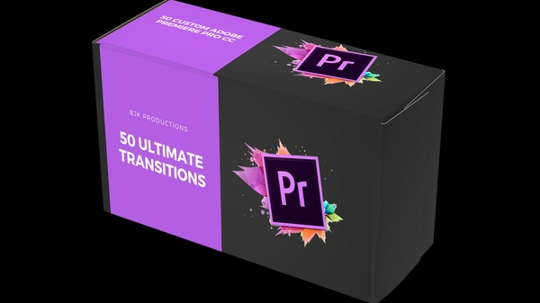 (Best Seller) 50 INSANE Adobe Premiere Pro Transitions + Sound Effects!