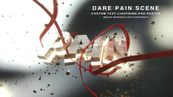 Dare Pain Scene -