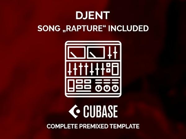 CUBASE PRE-MIXED TEMPLATE - Djent / Progressive metal / All VSTi
