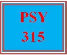 PSY 315 Week 5 Hypothesis Testing Paper