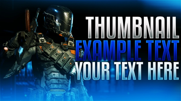 Bo3 Specialist Thumbnail Template