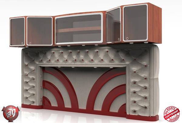 3D Interior Set