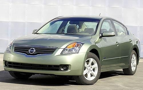 2008-2009 Nissan Altima Hybrid-L32, OEM Factory Service and Repair Manual