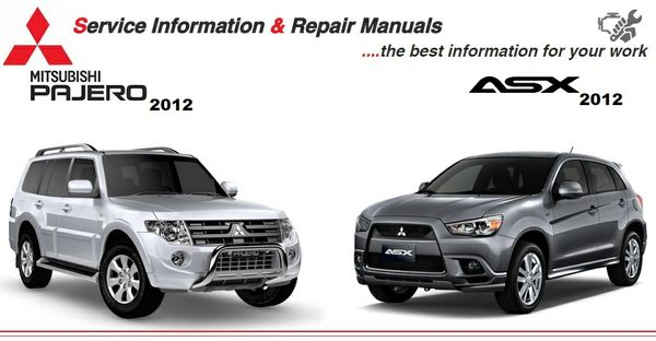 ASX & PAJERO 2012 WORKSHOP MANUAL
