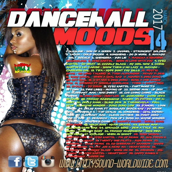 [Multi-Tracked Download] Unity Sound - Dancehall Moods 14 - Dancehall Mix 2017