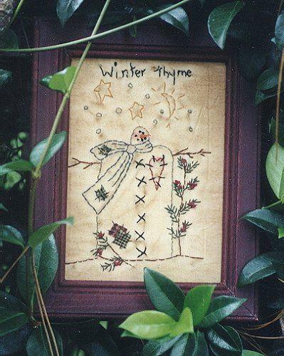 #101 Winter Thyme E Pattern
