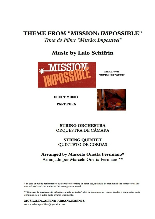 Theme from Mission Impossible - String Orchestra - Score and parts.pdf