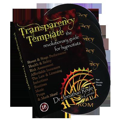 The Transparency Template - Revolutionary Stage & Street Hypnosis Training