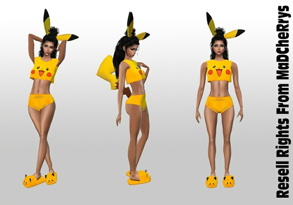 Pika Bundle Catty Only!!! In Sizes RL, RLL, RLS