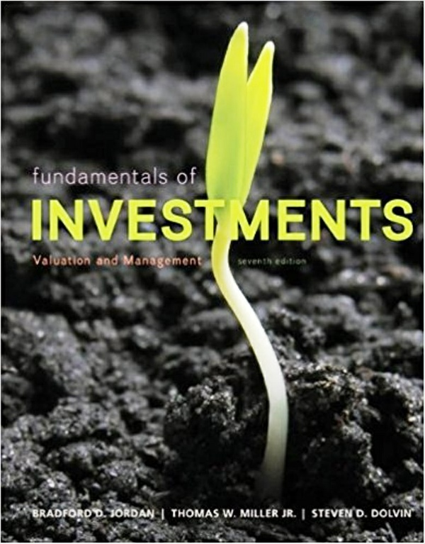 Fundamentals of Investments, Valuation and Management, 7th edition ( PDF , Instant download )