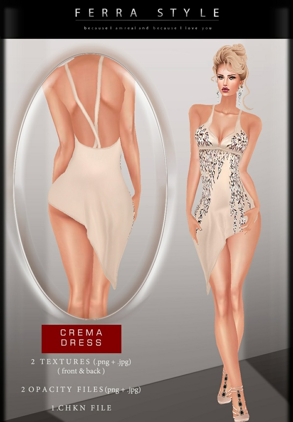 ::  CREMA DRESS  ::
