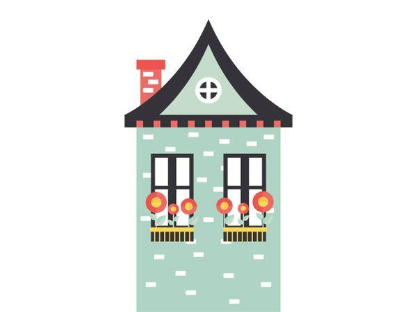 Видеоурок: Как нарисовать дом с помощью базовых инструментов иллюстратора