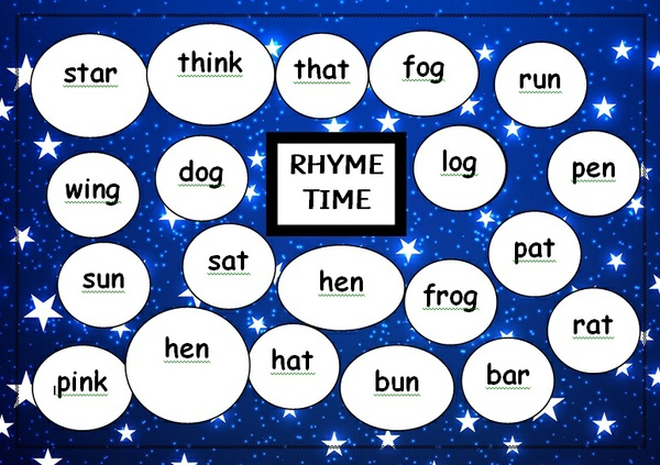 RHYME TIME - DABBER MAT