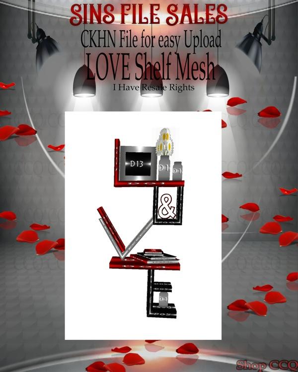 ♥Love Shelf Mesh*CHKN File